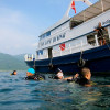 """Ko Lipe Diving - Our 25 meter dive boat MV Chalam Waan - Koh Lipe, Tarutao National Marine Park, Thailand • <a style=""""font-size:0.8em;"""" href=""""http://www.flickr.com/photos/84280466@N07/9618698269/"""" target=""""_blank"""">View on Flickr</a>"""