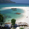 """Ko Lipe Diving - View of the famous sandbar in front of Mountain Resort - Koh Lipe, Thailand, Tarutao National Marine Park • <a style=""""font-size:0.8em;"""" href=""""http://www.flickr.com/photos/84280466@N07/7954026624/"""" target=""""_blank"""">View on Flickr</a>"""