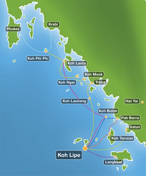 From Phuket to Koh Lipe