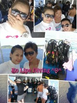 Ko Lipe Diving - Selina group fun divers boat photo collage