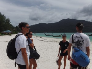 Ko Lipe Diving - Trip to the viewpoint on Koh Adang