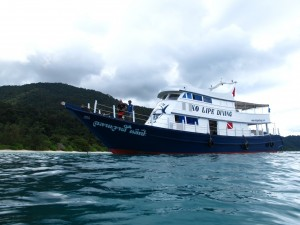 Ko Lipe Diving dive boat