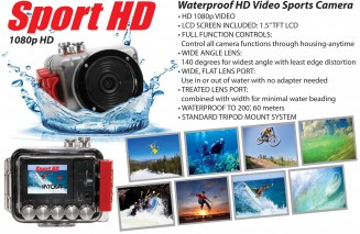 Ko Lipe Diving - Intova HD Sport rental camera