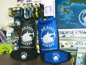 KLD dry bag and mask strap cover