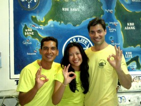 New PADI Open Water Divers