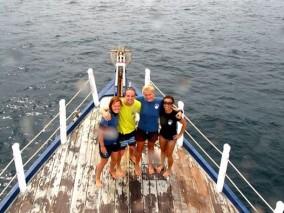 Team KLD Annika Johan Bonnie Rebecca Ko Lipe Diving