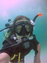underwater selfie ko lipe diving