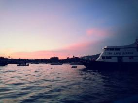 Ko Lipe Diving night dive boat sunset