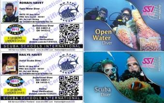 SSI Open Water Diver Junior Scuba Diver